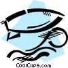 Surfing Vector Clip Art image