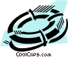 Life Vests and Preservers Vector Clip Art picture