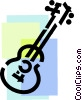 Acoustic Guitars Vector Clip Art graphic