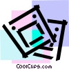 Vector Clipart graphic  of a Slides