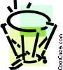 Vector Clipart picture  of a Timpani