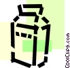 Vector Clipart graphic  of a Milk