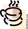 Vector Clipart image  of a Teacups
