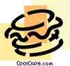 Hamburgers Vector Clip Art graphic