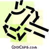 Vector Clipart picture  of a Hammers