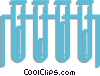 test tubes Vector Clip Art picture