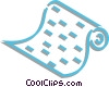Vector Clipart picture  of a printout