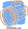 Vector Clipart illustration  of a flashlight