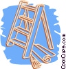 Vector Clip Art picture  of a ladder