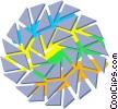 decorative flourishes Vector Clipart illustration