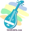 mandolin Vector Clipart illustration