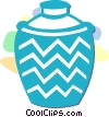 vase Vector Clipart illustration