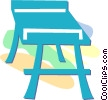 Vector Clipart picture  of a table