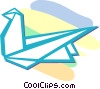 Vector Clipart illustration  of a origami