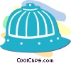 Japanese hat Vector Clipart graphic