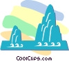 mountains Vector Clip Art image