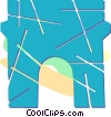 Arc de Triomphe Vector Clip Art picture