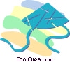 Vector Clipart graphic  of a Japanese hat