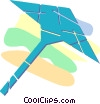 Vector Clipart illustration  of a umbrella