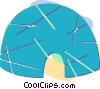 hut Vector Clipart picture