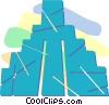 Incan pyramid Vector Clipart illustration