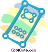 Vector Clipart picture  of a remote controls