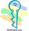 key Vector Clipart illustration