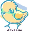 chicks Vector Clip Art picture