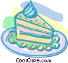 Vector Clipart illustration  of a dessert