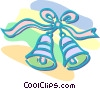 Vector Clip Art picture  of a Christmas bells