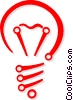 light bulb Vector Clip Art picture