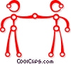 friends Vector Clip Art picture