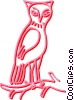 owl Vector Clip Art graphic