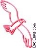 Vector Clipart picture  of a bird