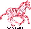 zebra Vector Clip Art graphic