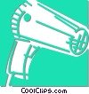 Vector Clipart picture  of a hair dryer