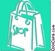 shopping bag Vector Clip Art graphic