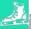 Vector Clipart picture  of a ice skate
