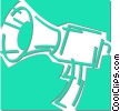 megaphone Vector Clipart illustration
