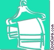 Vector Clipart illustration  of a clothes hanger