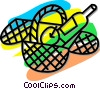 picnic basket Vector Clipart picture
