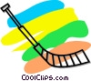 hockey stick Vector Clipart illustration