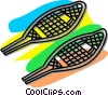 Vector Clipart picture  of a snowshoes