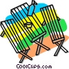 picnic table Vector Clipart graphic