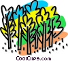 forest, trees Vector Clip Art graphic