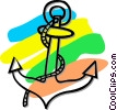anchor Vector Clipart illustration