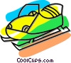 snowmobile Vector Clipart picture