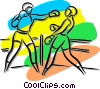 Vector Clipart picture  of a boxers