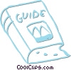 guide book Vector Clip Art graphic
