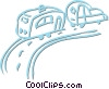 family vacation Vector Clip Art picture